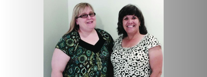 Image of Amy Sandy & Elizabeth Klar
