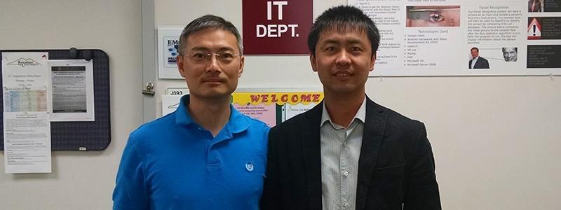 Image of Guangzhi (Jack) Zheng and Zhigang Li
